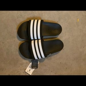 Adidas sandals, size 5, new